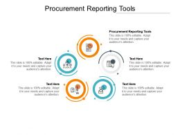 Procurement Reporting Tools Ppt Powerpoint Presentation Slides Visuals Cpb