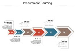 Procurement Sourcing Ppt Powerpoint Presentation Infographics Guide Cpb
