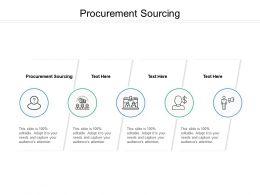 Procurement Sourcing Ppt Powerpoint Presentation Outline Deck Cpb