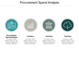 Procurement Spend Analysis Ppt Powerpoint Presentation Model Clipart Images Cpb