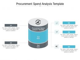 Procurement Spend Analysis Template Ppt Powerpoint Presentation Summary Graphics Cpb
