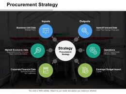 Procurement Strategy Inputs Outputs Ppt Slides Graphics Download