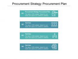 Procurement Strategy Procurement Plan Ppt Powerpoint Presentation Layouts Graphics Cpb