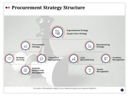 Procurement Strategy Structure Transaction Management Ppt Powerpoint Presentation Gallery