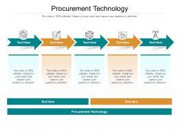 Procurement Technology Ppt Powerpoint Presentation Show Portrait Cpb
