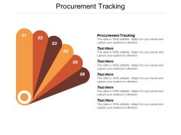 Procurement Tracking Ppt Powerpoint Presentation Professional Layouts Cpb
