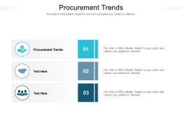 Procurement Trends Ppt Powerpoint Presentation Slides Show
