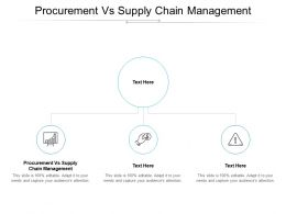 Procurement Vs Supply Chain Management Ppt Powerpoint Presentation Styles Cpb