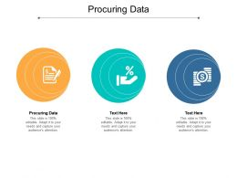 Procuring Data Ppt Powerpoint Presentation Gallery Introduction Cpb