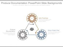 Produce Documentation Powerpoint Slide Backgrounds