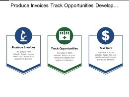 Produce Invoices Track Opportunities Develop Innovative Communication Collaboration