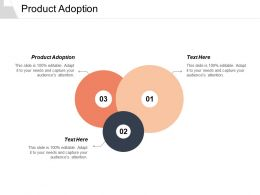 Product Adoption Ppt Powerpoint Presentation Layout Cpb