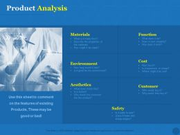 Product Analysis Environment Ppt Powerpoint Presentation Ideas Introduction