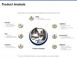 Product Analysis Features Existing Ppt Powerpoint Presentation Designs Download