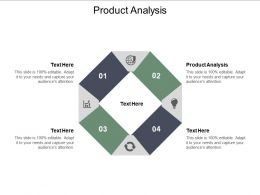 Product Analysis Ppt Powerpoint Presentation Layouts Format Ideas Cpb