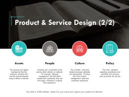 Product And Service Design Ppt Powerpoint Presentation Summary Layout