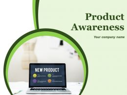 Product Awareness Powerpoint Presentation Slides