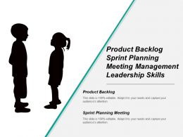 Product Backlog Sprint Planning Meeting Management Leadership Skills