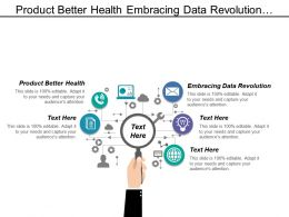 Product Better Health Embracing Data Revolution Creativity Breadth