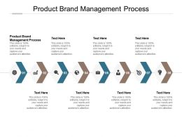 Product Brand Management Process Ppt Powerpoint Presentation Summary Guide Cpb