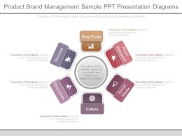 Product Brand Management Sample Ppt Presentation Diagrams