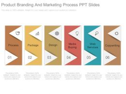 Product Branding And Marketing Process Ppt Slides