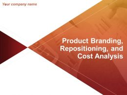 Product Branding Repositioning And Cost Analysis Powerpoint Presentation Slides