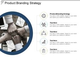 Product Branding Strategy Ppt Powerpoint Presentation File Inspiration Cpb