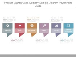Product Brands Cape Strategy Sample Diagram Powerpoint Guide