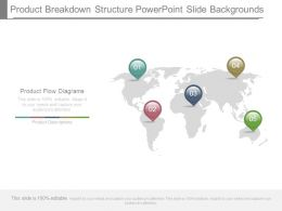 Product Breakdown Structure Powerpoint Slide Backgrounds