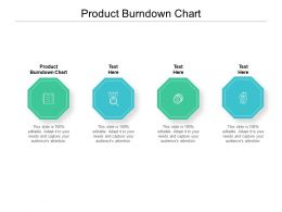 Product Burndown Chart Ppt Powerpoint Presentation Inspiration Tips Cpb