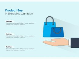 Product Buy In Shopping Cart Icon