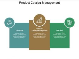 Product Catalog Management Ppt Powerpoint Presentation Professional Graphics Cpb