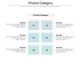 Product Category Ppt Powerpoint Presentation Styles Structure Cpb