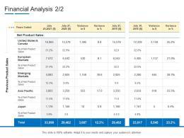 Product Channel Segmentation Financial Analysis Ppt Portrait
