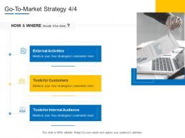 Product Channel Segmentation Go To Market Strategy Ppt Brochure