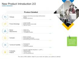 Product Channel Segmentation New Product Introduction Ppt Mockup