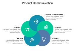 Product Communication Ppt Powerpoint Presentation Icon Themes Cpb