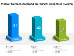 Product Comparison Based On Features Using Three Column