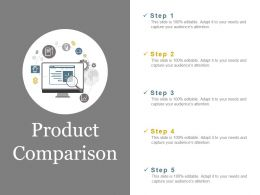Product Comparison Ppt Samples Download