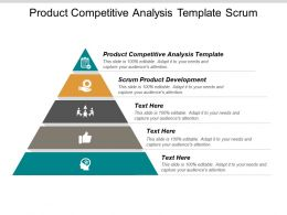 Product Competitive Analysis Template Scrum Product Development Forecasting Marketing Cpb