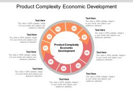 Product Complexity Economic Development Ppt Powerpoint Presentation Infographics Graphics Example Cpb