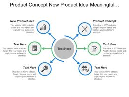 Product Concept New Product Idea Meaningful Consumer Terms