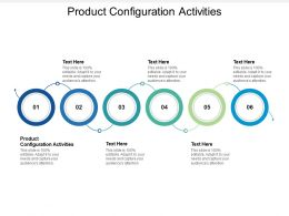 Product Configuration Activities Ppt Powerpoint Presentation Infographics Grid Cpb