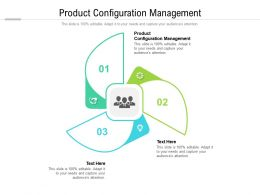 Product Configuration Management Ppt Powerpoint Presentation Topics Cpb