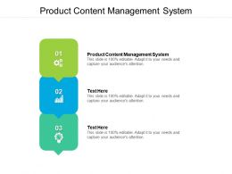 Product Content Management System Ppt Powerpoint Presentation Styles Visuals Cpb