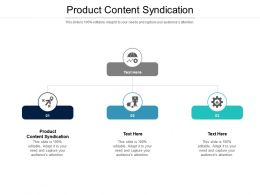 Product Content Syndication Ppt Powerpoint Presentation Ideas Slide Portrait Cpb