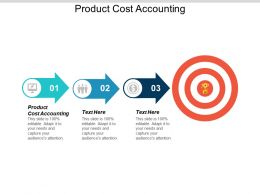 Product Cost Accounting Ppt Powerpoint Presentation Icon Graphics Cpb