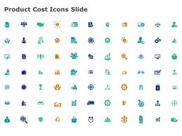 Product Cost Icons Slide Ppt Powerpoint Presentation File Rules