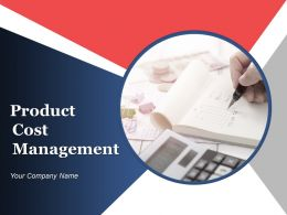 Product Cost Management Powerpoint Presentation Slides